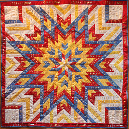 ShowThrow Heirloom Ribbon Quilts by Lani B. Ohly : ribbon quilt - Adamdwight.com